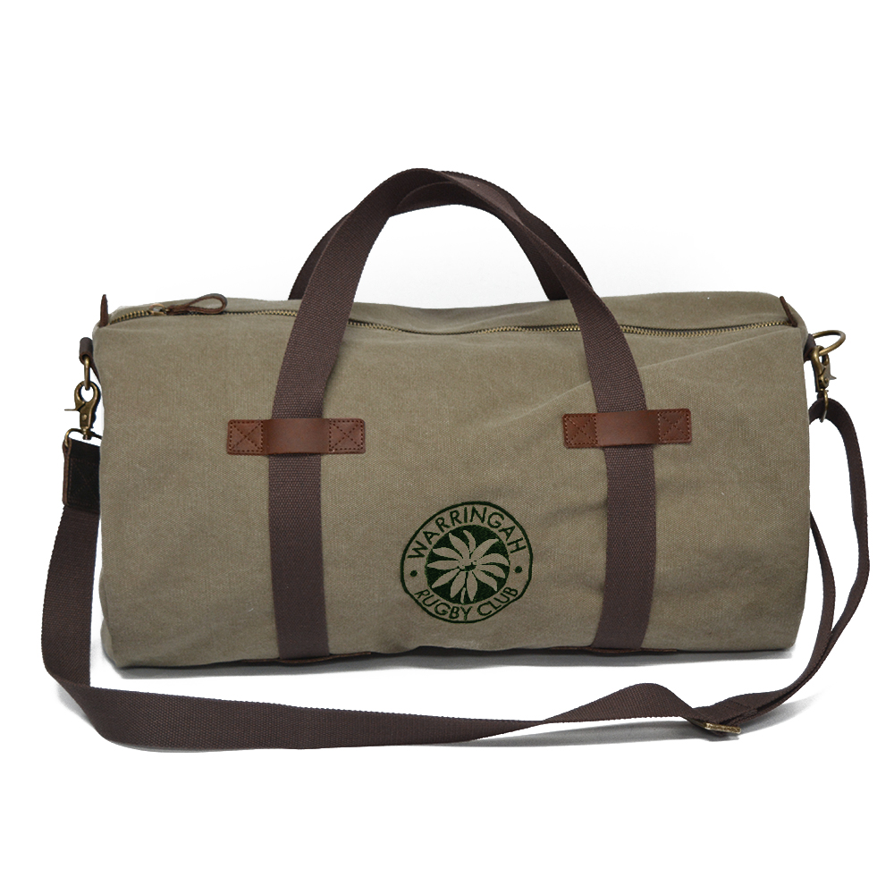 Rats Canvas Duffle Bag   Warringah Rugby Club 1da0ae23ed